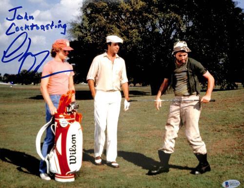 """Chevy Chase Caddyshack """"John C**ktoasting"""" Signed 11x14 Photo BAS #M53753"""