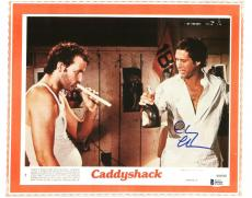 Chevy Chase Caddyshack Signed 11X14 Lobby Card Photo BAS Witnessed 6