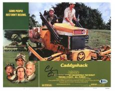 Chevy Chase Caddyshack Signed 11X14 Lobby Card Photo BAS Witnessed 2