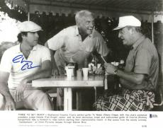 Chevy Chase Caddyshack Signed 11X14 Lobby Card Photo BAS Witnessed 5