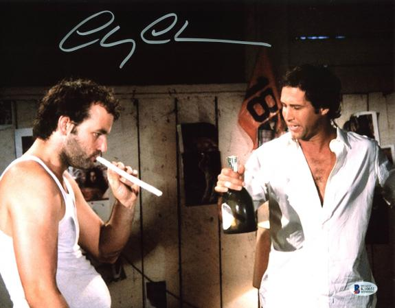 Chevy Chase Caddyshack Signed 11x14 Photo Autographed BAS Witnessed 3
