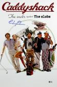 Chevy Chase Caddyshack Signed 12x18 Mini Movie Poster BAS Witnessed 2