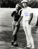 Chevy Chase Caddyshack Signed 16X20 Photo w/ Cindy Morgan BAS Witness