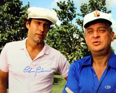 Chevy Chase Caddyshack Signed 16X20 Photo w/Dangerfield BAS Witnessed