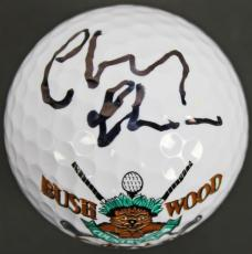 Chevy Chase Caddyshack Signed Bushwood Country Club Golf Ball PSA ITP