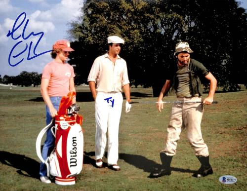 "Chevy Chase Caddyshack ""Ty"" Signed 11x14 Photo BAS Witnessed #M50477"