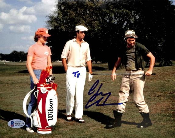 "Chevy Chase Caddyshack ""Ty"" Signed 8x10 Photo BAS Witnessed #M50470"
