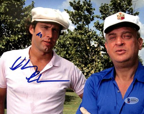 "Chevy Chase Caddyshack ""Ty"" Signed 8x10 Photo BAS Witnessed #M50472"