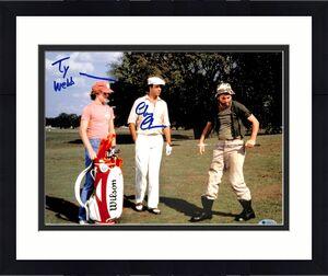 "Chevy Chase Caddyshack ""Ty Webb"" Signed 11x14 Photo BAS Witnessed #M50476"