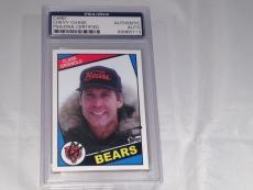 Chevy Chase Christmas Vacation Clark Griswold Signed Psa/dna Slabbed Card