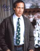 Chevy Chase Christmas Vacation Signed 11X14 Photo BAS Witnessed 4