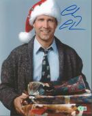 Chevy Chase Christmas Vacation Signed 11X14 Photo BAS Witnessed 5