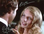 """Chevy Chase & Cindy Morgan Caddyshack """"Lacey"""" Signed 11X14 Photo PSA/DNA 7A92940"""