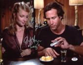 Chevy Chase & Cindy Morgan Caddyshack Signed 11x14 Photo PSA/DNA ITP #7A92939