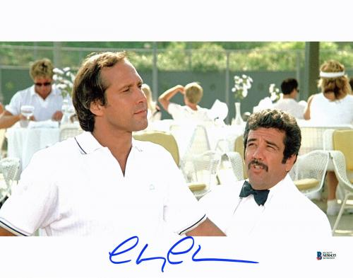 Chevy Chase Fletch Signed 11x14 Photo Autographed BAS Witness #M50435
