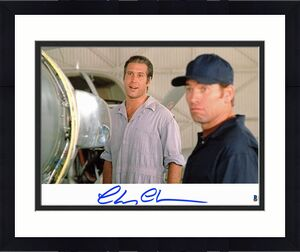 Chevy Chase Fletch Signed 11x14 Photo Autographed BAS Witnessed 1