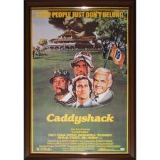 Chevy Chase Framed Autographed Caddyshack Poster