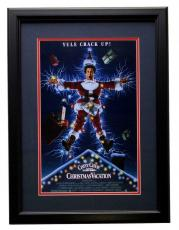 Chevy Chase Framed 12x17 Christmas Vacation Movie Poster