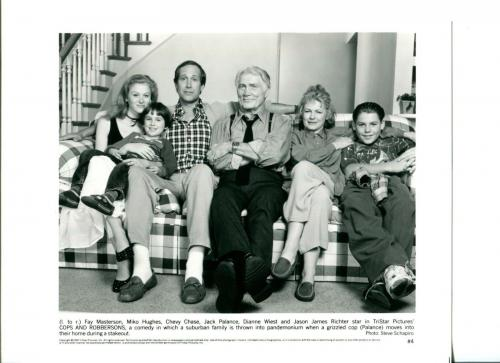 Chevy Chase Jack Palance Dianne Wiest Cops And Robbersons Press Movie Photo