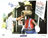 Chevy Chase Lampoon's Vacation Signed 11X14 Lobby Card Photo BAS Witnessed