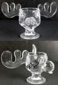 Chevy Chase National Lampoon's Christmas Vacation Signed Moose Mug BAS Witnessed