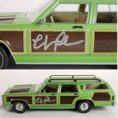 Chevy Chase National Lampoon's Vacation Signed 1:18 Family Truckster BAS 2