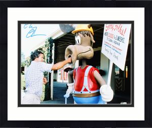 Chevy Chase National Lampoon's Vacation Signed 16X20 Photo BAS Witnessed