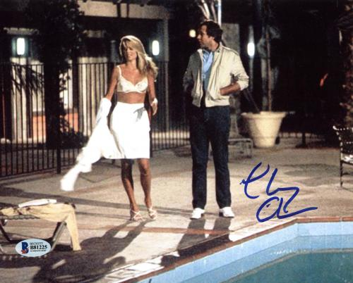 Chevy Chase National Lampoon's Vacation Signed 8x10 Photo BAS #B81225