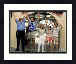 Chevy Chase National Lampoon's Vacation Signed 8x10 Photo BAS Witness 25