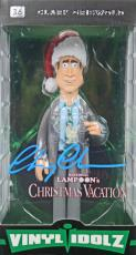 Chevy Chase Natl Lampoon's Christmas Vacation Signed Vinyl Idolz Figure PSA