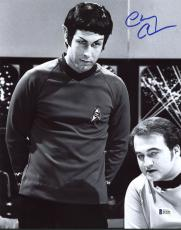 Chevy Chase Saturday Night Live Signed 11X14 Photo BAS Witnessed