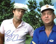 Chevy Chase Signed 11X14 Caddyshack Photo w/ Dangerfield PSA/DNA