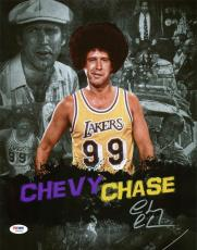 Chevy Chase Signed 11X14 Movie Collage Photo Autographed PSA/DNA ITP B