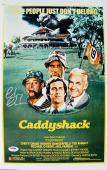 Chevy Chase Signed 11x17 Caddyshack Mini Movie Poster PSA/DNA
