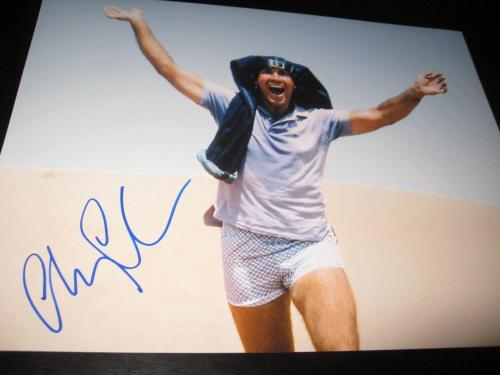 CHEVY CHASE SIGNED AUTOGRAPH 8x10 PHOTO NATIONAL LAMPOON PROMO IN PERSON COA X7
