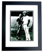 Chevy Chase Signed - Autographed CADDYSHACK 8x10 inch Photo BLACK CUSTOM FRAME - Guaranteed to pass PSA or JSA
