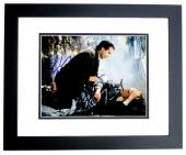 Chevy Chase Signed - Autographed Christmas Vacation 8x10 inch Photo BLACK CUSTOM FRAME - Guaranteed to pass PSA or JSA - Clark Griswold