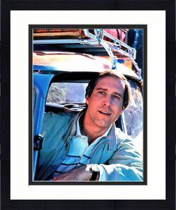 Chevy Chase Signed - Autographed National Lampoon's European Vacation 11x14 inch Photo - Guaranteed to pass BAS - Clark Griswold
