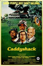 Chevy Chase Signed Caddyshack 11x17 Movie Poster