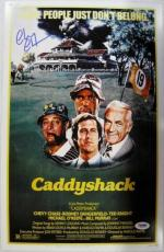 CHEVY CHASE SIGNED Caddyshack 11x17 PHOTO ITP PSA/DNA Caddy Shack