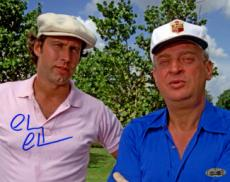 Chevy Chase signed Caddyshack 8x10 Photo w/ Rodney Dangerfield- Steiner Hologram (entertainment)