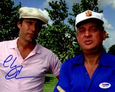 Chevy Chase Signed Caddyshack 8x10 Photo w/Rodney Dangerfield