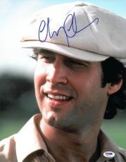 Chevy Chase Signed CADDYSHACK Authentic 11x14 Photo (PSA/DNA) #U9904