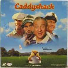 Chevy Chase Signed Caddyshack Authentic Auto Laserdisc Cover PSA/DNA #W98653