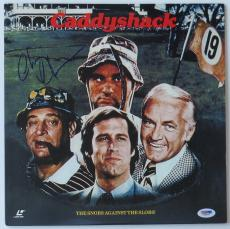 Chevy Chase Signed Caddyshack Authentic Autographed Laser Disc (PSA/DNA) #V26591