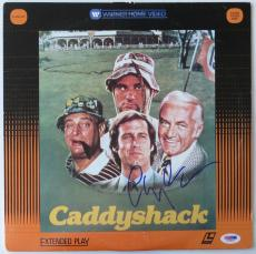 Chevy Chase Signed Caddyshack Authentic Autographed Laser Disc (PSA/DNA) #V26592