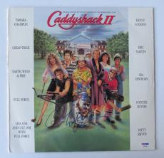 Chevy Chase Signed Caddyshack Authentic Record Album Cover (PSA/DNA) #P49069