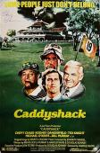 CHEVY CHASE Signed CADDYSHACK Movie Poster 24x36 Replica Autograph ~ PSA/DNA COA