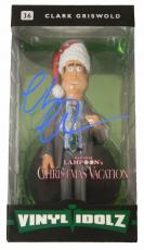 Chevy Chase Signed Christmas Vacation Clark Griswold Vinyl Idolz Doll
