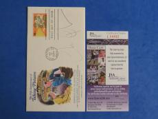 CHEVY CHASE SIGNED FIRST DAY ISSUE FDC ~ JSA Cert L04492 ~ AUTOGRAPH
